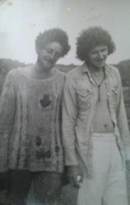 Hippy Ian and friend